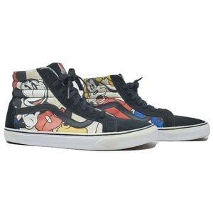 Mickey and Friends Vans SK8 Hi Tops Pro X Disney